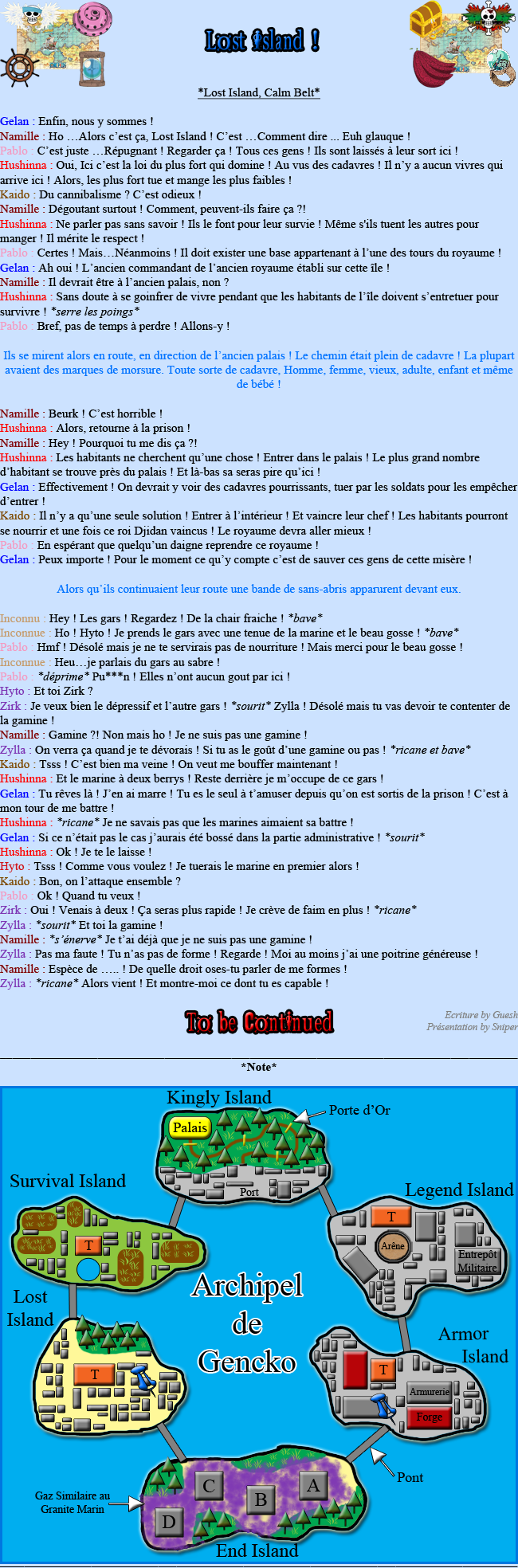 [Fanfiction] L'Équipage Tsubandos ! 101