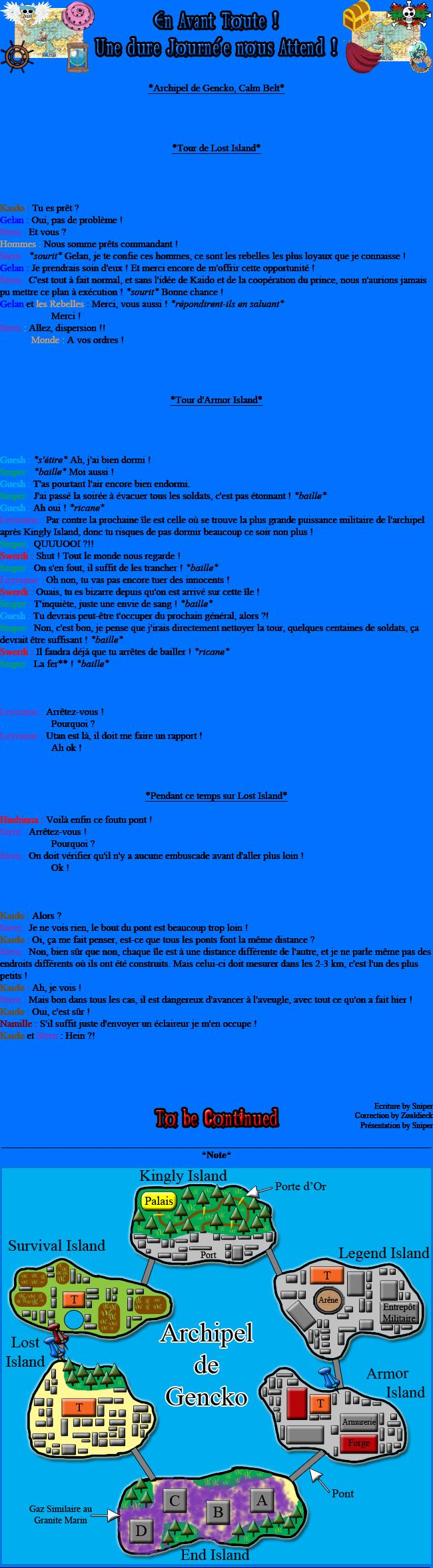 [Fanfiction] L'Équipage Tsubandos ! 118