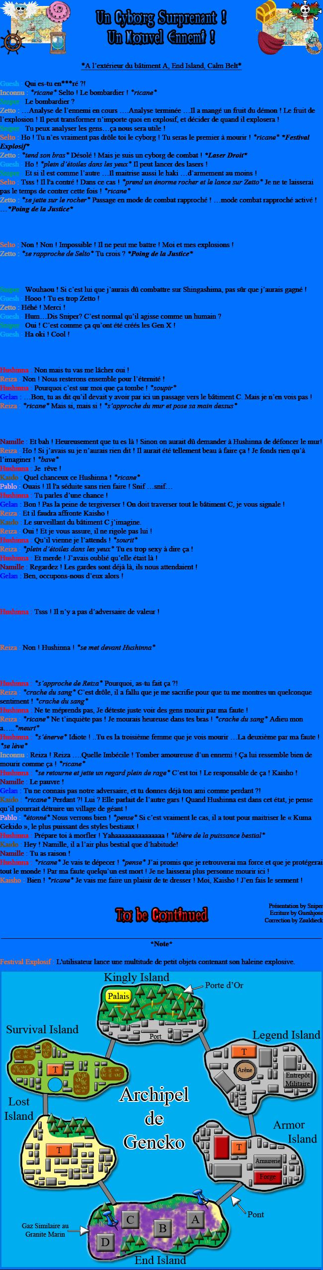 [Fanfiction] L'Équipage Tsubandos ! 98